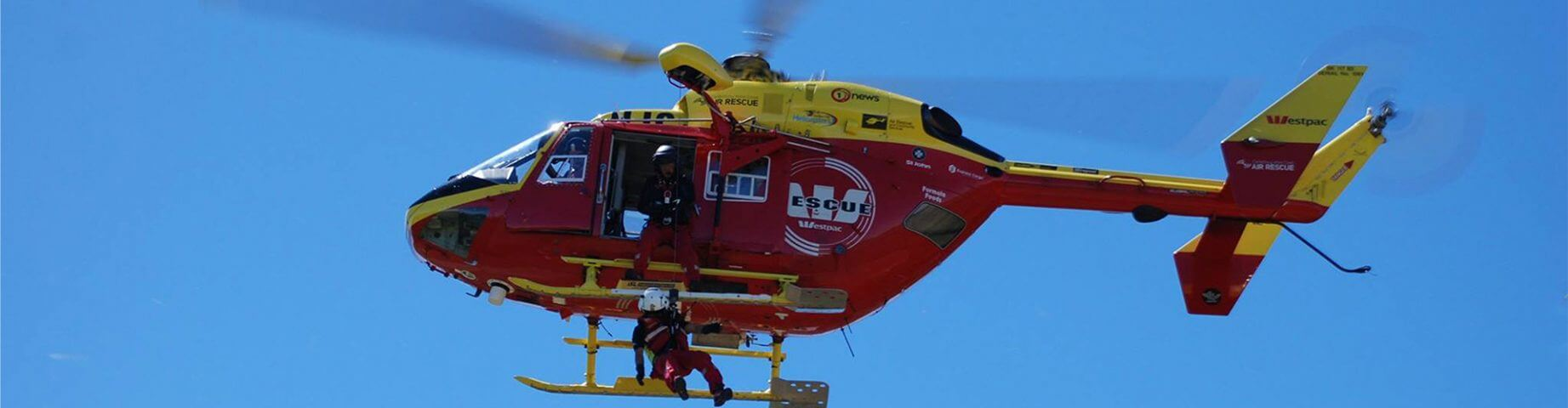 Westpac Rescue Helicopter & Crew