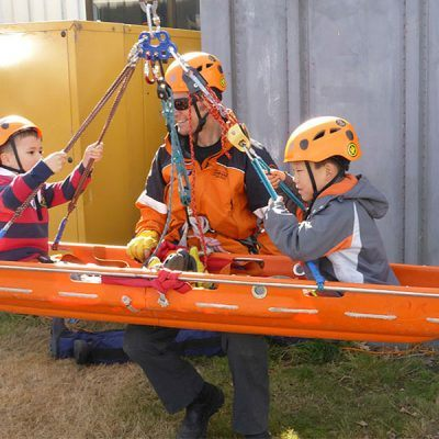 Air Rescue Open Day 2015 - Stretcher