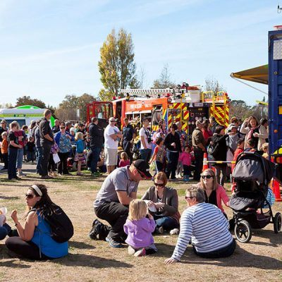 Air Rescue Open Day 2015 - Crowds