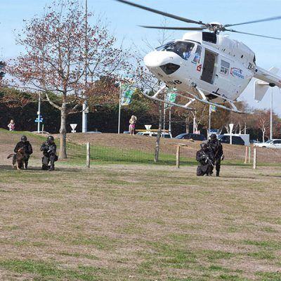 Air Rescue Open Day 2015 - Police Demonstration