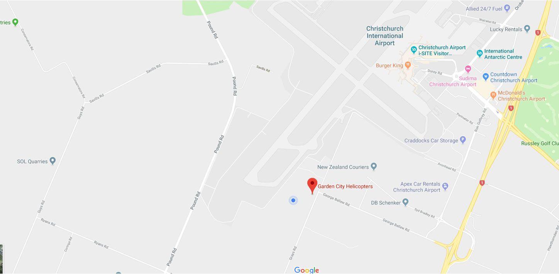 Christchurch - Headquarters Map