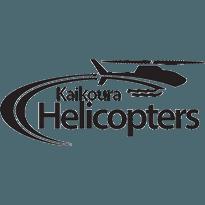 Kaikoura Helicopters Logo Black