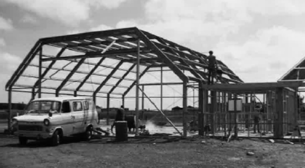History 1984 - Memorial Ave HQ Build