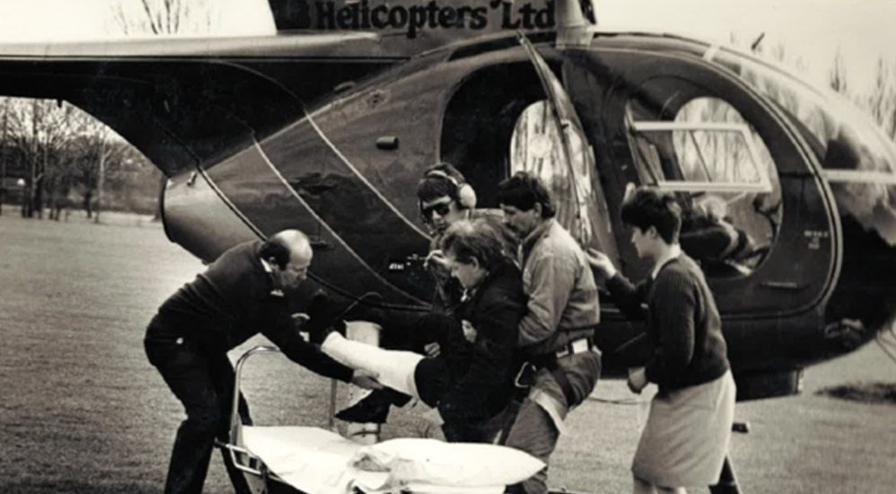 History 1985 - Air Rescue Operation
