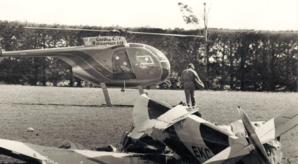History 1985 - Jodel Plane Crash Rescue