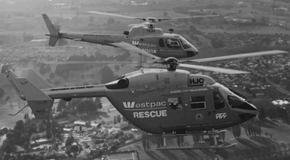 History 1995 - Westpac BK117 Helicopter