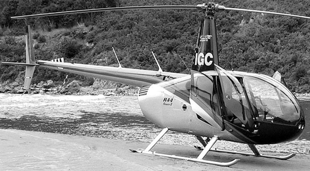 History 2002 - Robinson R44 Raven Helicopter