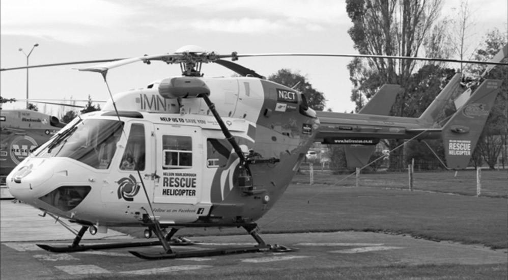 History 2011 - BK117 Rescue Helicopter