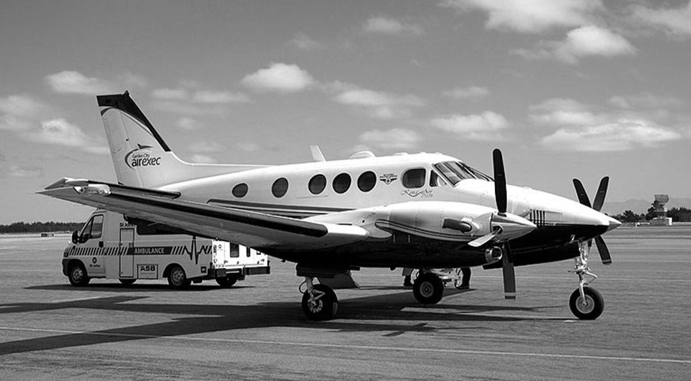 History 2012 - Beechcraft King Air C90B