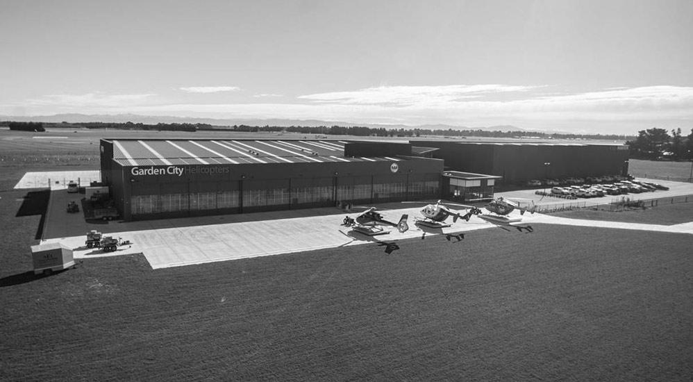 History 2017 - New GCH Aviation Headquarters