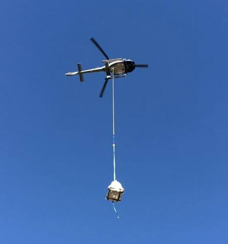 Commercial Helicopter Lifting Services